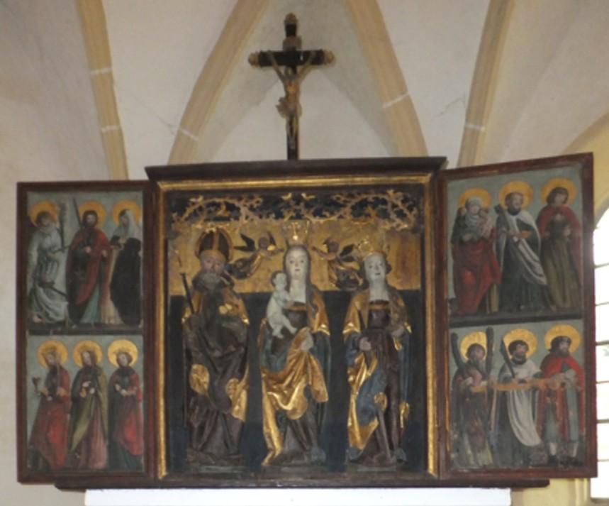 Falkenhain Kirche Altarbild