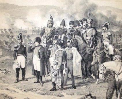 Napoleon bei Bautzen (Ausschnitt)