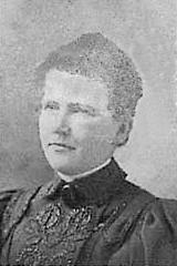 Mathilde Gelbke geb. Hütter (1856 - nach 1913)