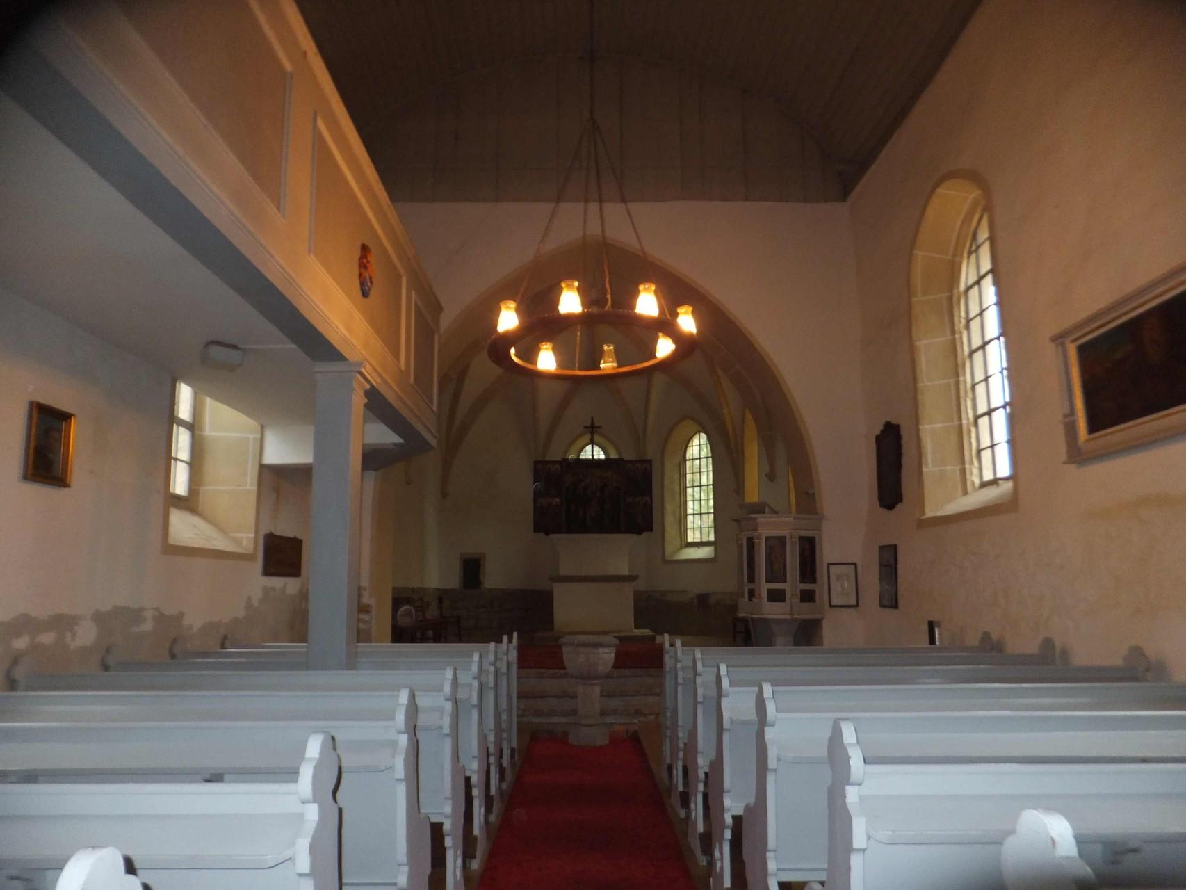 Falkenhain Kirchenschiff