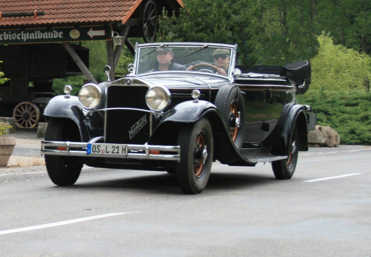 Gläser Mercedes-Benz Nürburg 460