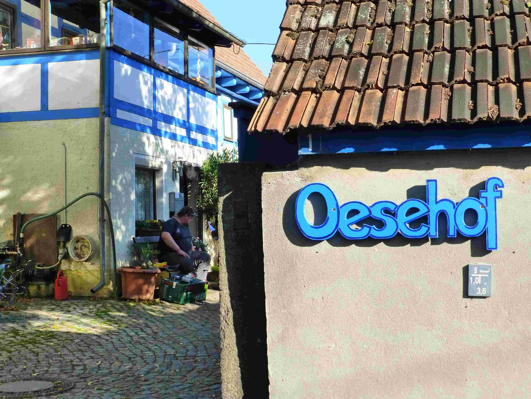 Oese-Hof von Jung-Bauer Karl Oese,   Am Steinberg 1,   01454 Wachau,  OT Seifersdorf