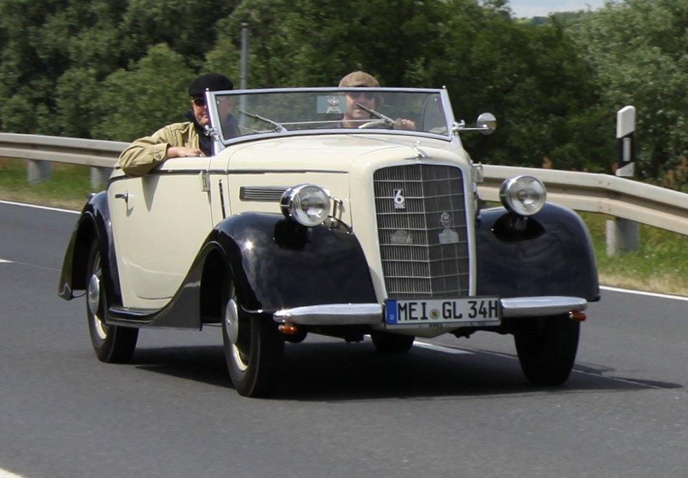 Gläser Opel 2,0 Liter 1934-37