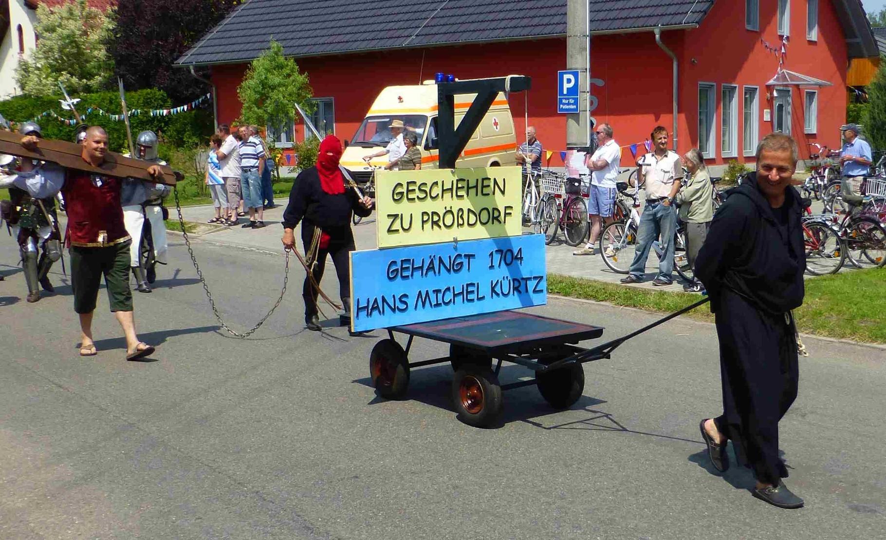 Prößdorf 600 Jahr-Feier 2013; Festumzug 5