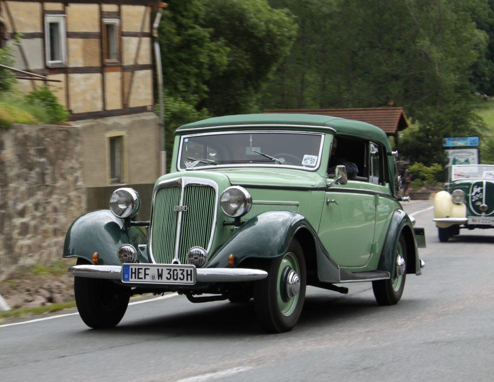 Gläser Wanderer W50 1936