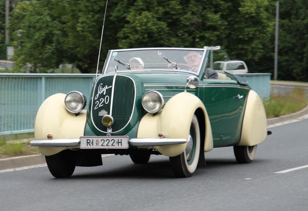 Gläser Steyer 220 1937