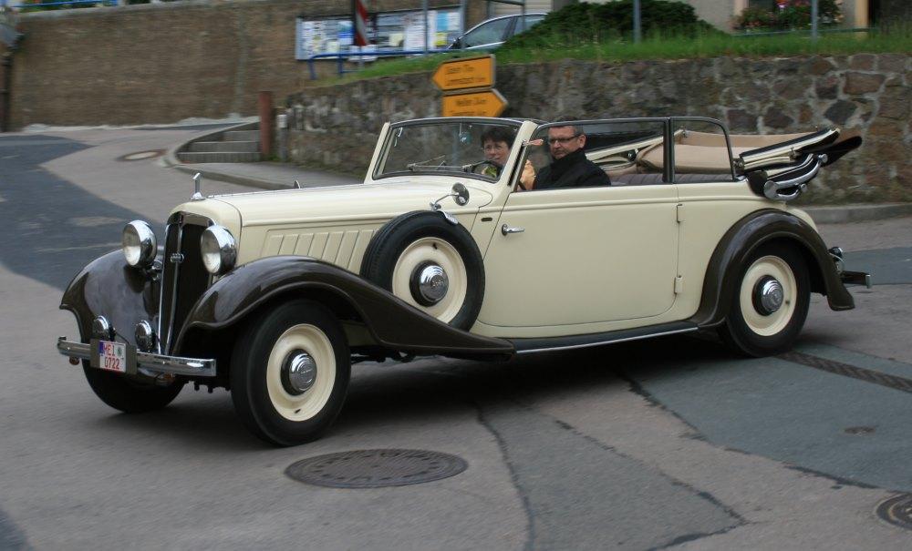 Gläser Audi Front 225 1938