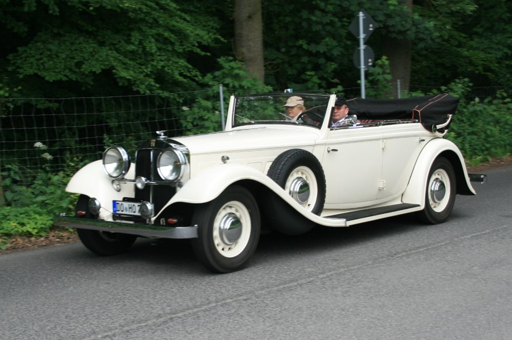 Gläser Horch 720 Cabrio 1932-35