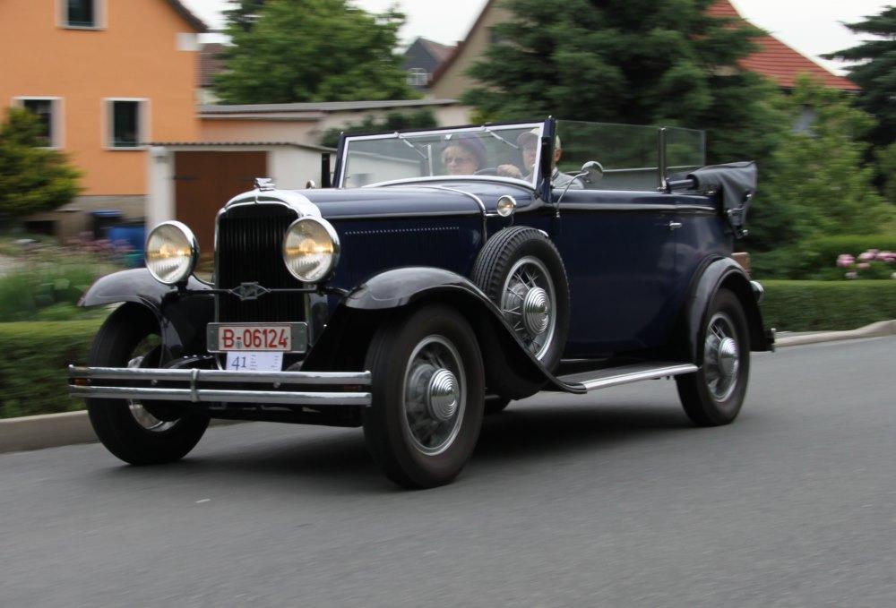 Gläser Buick Serie 50,  8-57 1931
