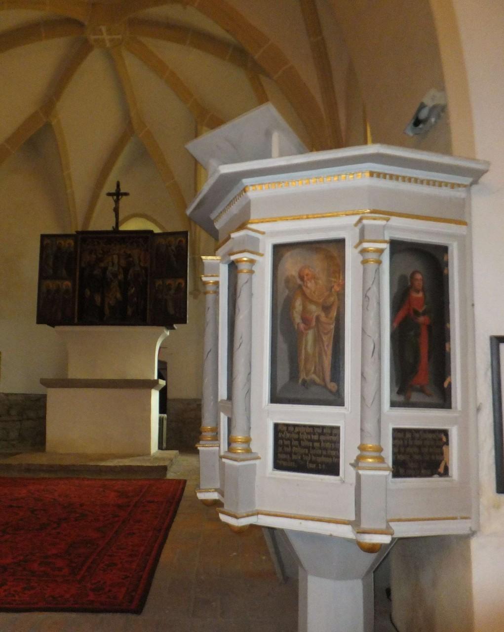 Falkenhain Kirche Kanzel