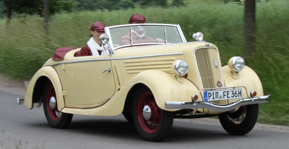 Gläser Ford Eifel 1935 -1940