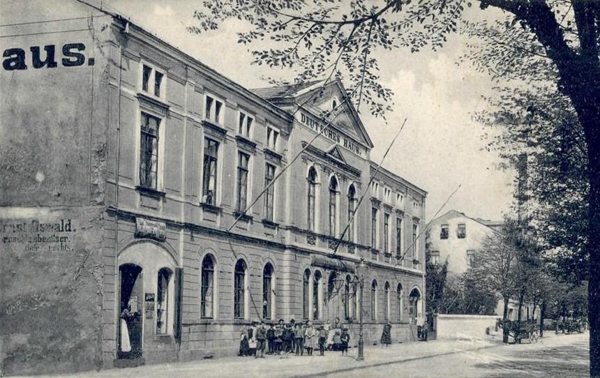 Deutsches Haus Radeberg ca. 1900