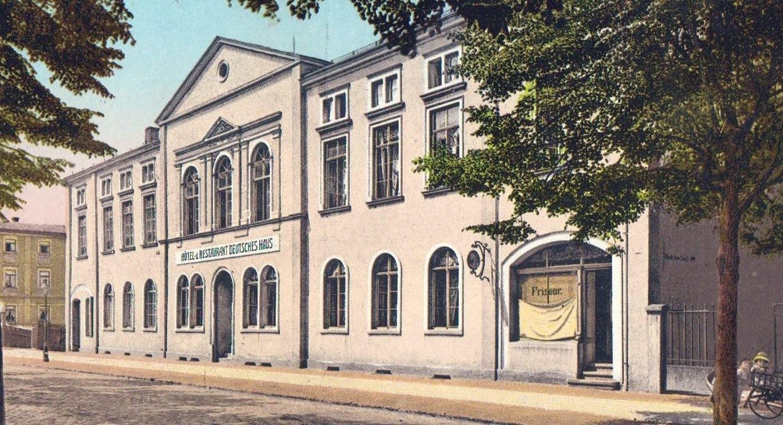 Deutsches Haus Radeberg ca. 1905