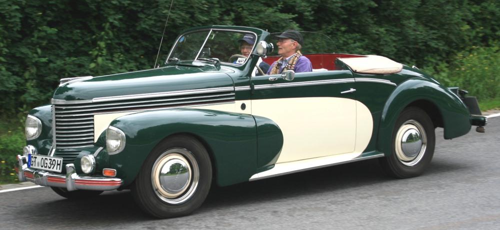 Gläser Opel Kapitän 1938-1940