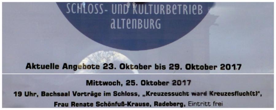 Plakat-Ankündigung