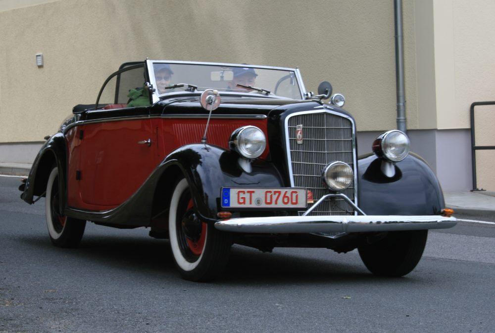 Gläser Opel 2,0 Liter 1936