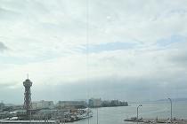 博多港の風景です。