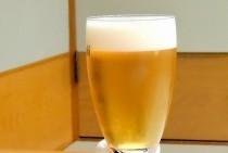 着付け国家技能検定終了~!  美味しいビールで乾杯~。