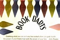 ブックダーツ。各色入ったセット。便利な読書グッズです。