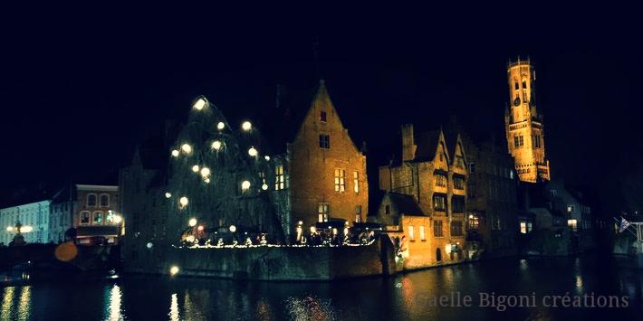 Bruges, Belgique, décembre 2013