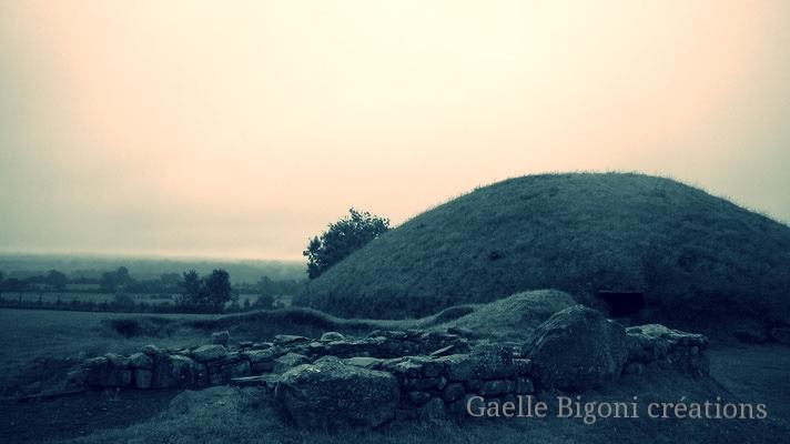 Newgrange, Irlande, Août 2013