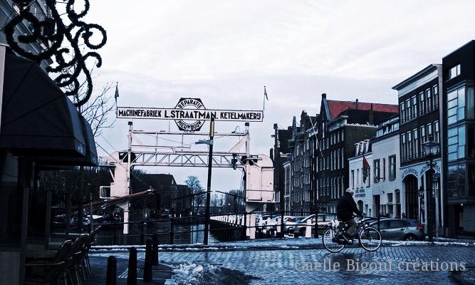 Dordrecht, Pays-Bas, Janvier 2015