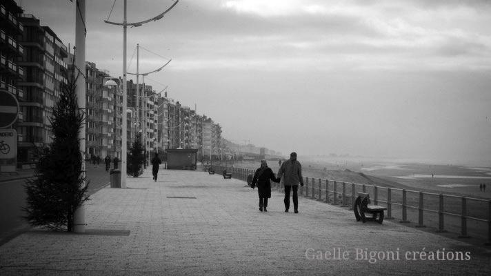 La Panne, Belgique, Décembre 2010