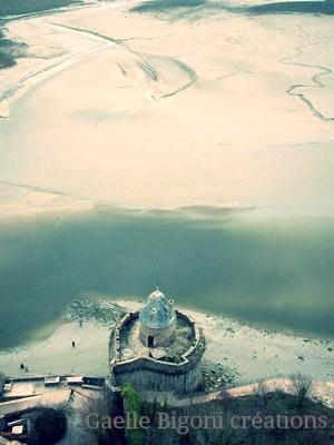 Mont Saint Michel, France, Décembre 2005