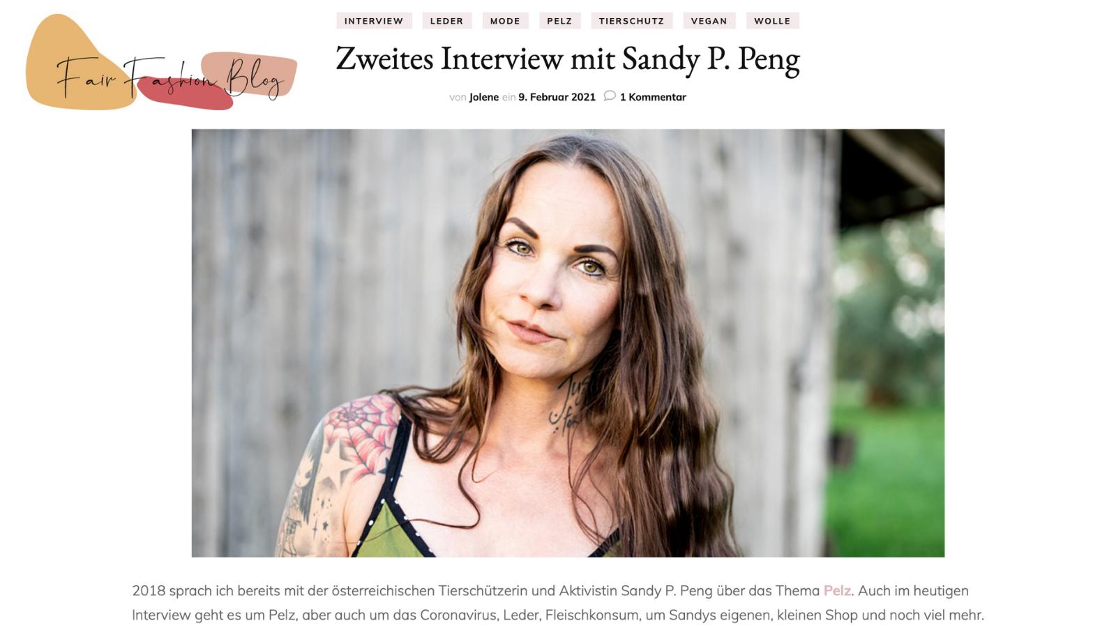 Interview mit Fair Fashion Blog