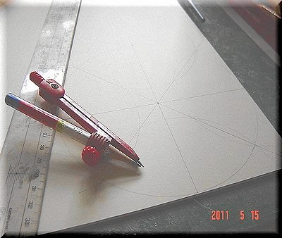 カルトンで箱を作る_01_カルトナージュの作り方