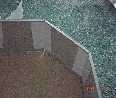 カルトンで箱を作る_03/カルトナージュの作り方 ©Atelier Z=Grace