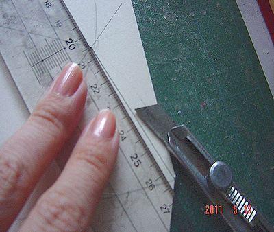 カルトンで箱を作る_02/カルトナージュの作り方 ©Atelier Z=Grace