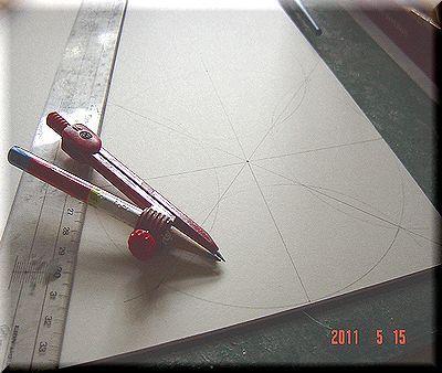 カルトンで箱を作る/カルトナージュの作り方 ©Atelier Z=Grace