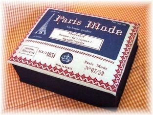 パリの手芸屋さん/カルトナージュ