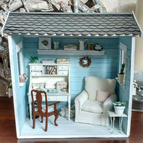 Miniatur Gartenhaus 1:12
