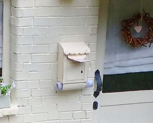 Briefkasten für den Wichteleingang