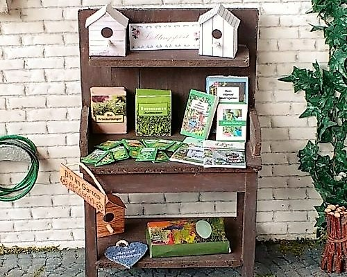 Printies für den Minigarten