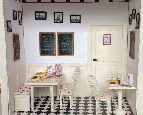 Ein kleines Café