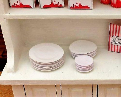 Anleitung für Mini-Teller aus Papier