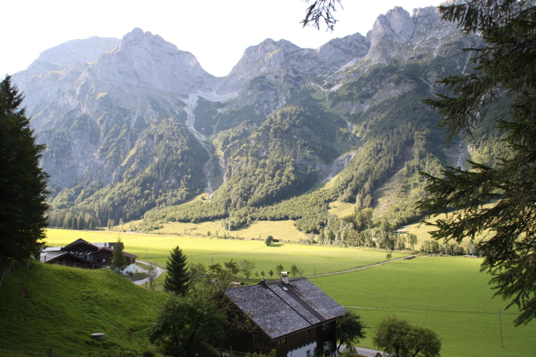 Blick auf´s Tennengebirge