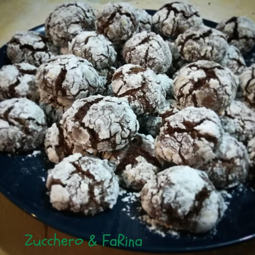 Biscotti al cioccolato fondente
