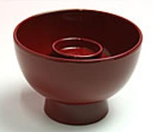 親碗(飯椀)  赤飯 または白飯  φ8.5cm×6.0cm(身の径、高さ)