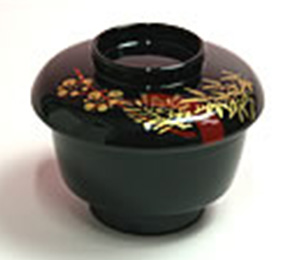 つぼ椀  煮豆、和え物、お造りなど  φ8.5cm×4.5cm(身の径、高さ)