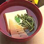 卵豆腐の吸物