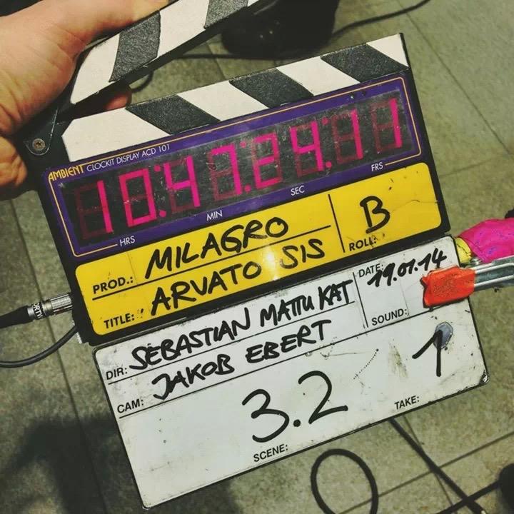 milagro Filmklappe
