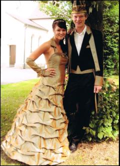 Prinzenpaar 2009 Eva I. & Geri I.