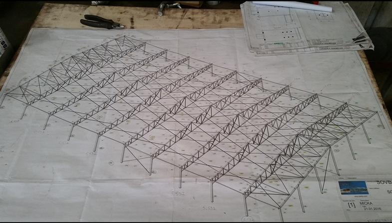 Plan bâtiment usine
