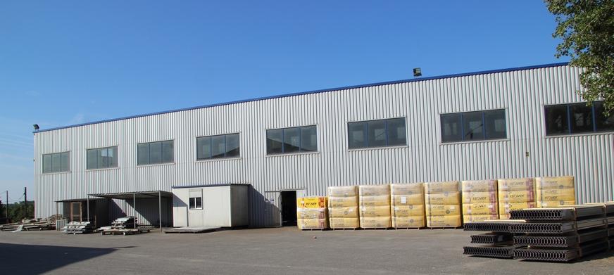 Atelier de construction métallique d'ACMB à Brioux en Deux-Sèvres 79