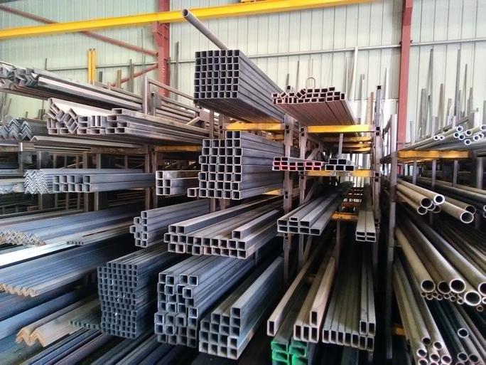 Stock de barres métalliques