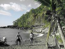 Guadeloupe plongée du bord